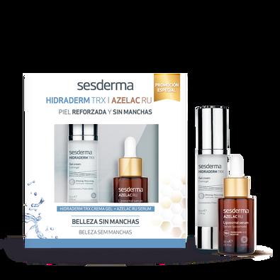 PROMO PACK Hidraderm TRX crema gel + Azelac RU liposomal serum