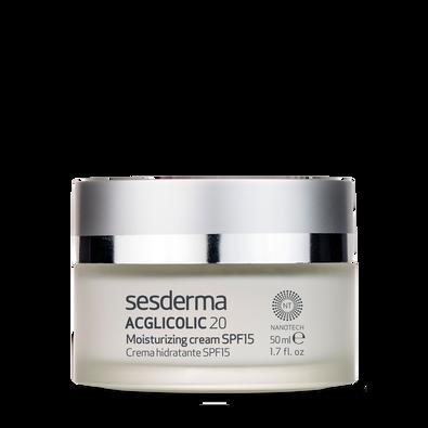 ACGLICOLIC 20 crema hidratante SPF 15
