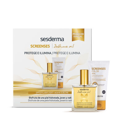 PROMO PACK Screenses color y aceite sublime