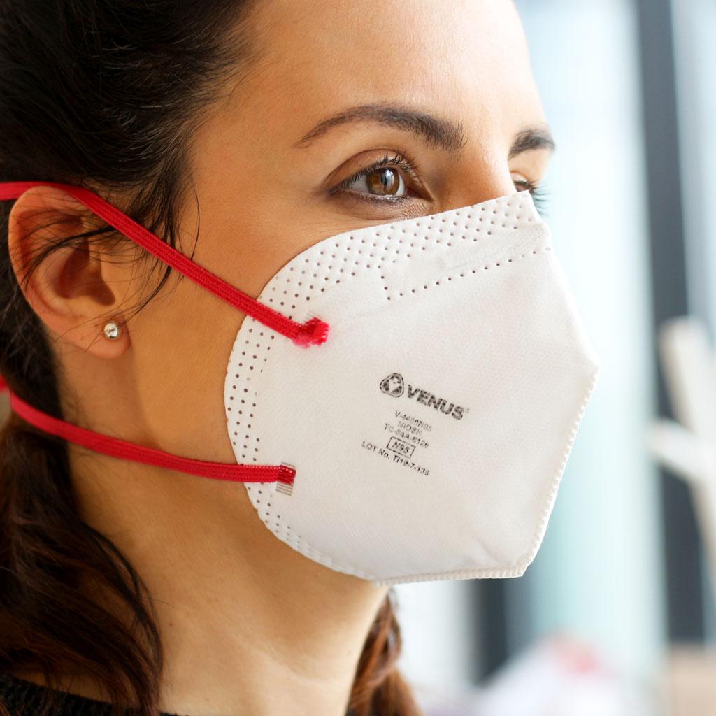 N95 mask Venus Without valve. Pack 5 units | SESDERMA